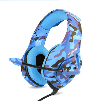 Геймърски слушалки ONIKUMA K1 B с микрофон - син цвят