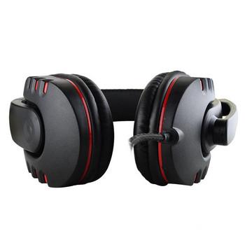 Геймърски слушалки PS4-488 с микрофон в черен цвят