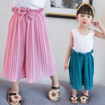 Модерен детски панталон в два цвята-за момичета