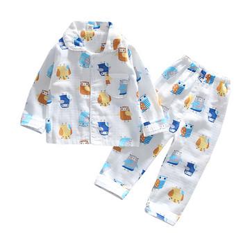 Детска пижама в два цвята от две части-за момчета