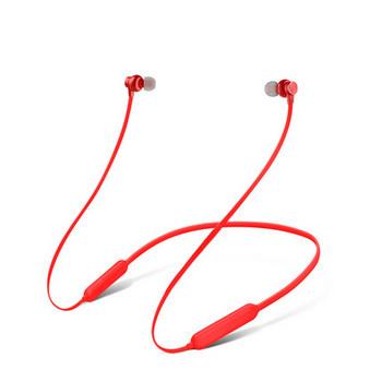 Безжични Bluetooth  слушалки TF 3 за спорт с микрофон и Micro SD в червен цвят