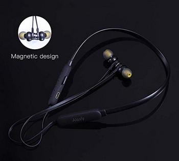 Ασύρματο Bluetooth TF 3 ακουστικό Bluetooth για αθλήματα με μικρόφωνο και Micro SD σε μαύρο χρώμα