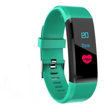 Фитнес гривна 115 TRUE HEARTBEATS  в зелен цвят