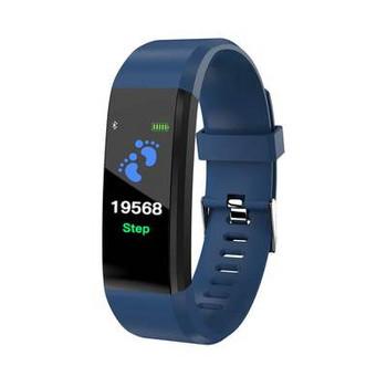 Фитнес гривна 115 TRUE HEARTBEATS  в син цвят