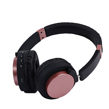 Bluetooth слушалки модел SY - BT 1603 с микрофон в розов цвят