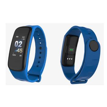 Фитнес гривна Smart bracelet C1  в син цвят