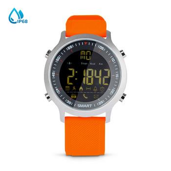 Смарт часовник в оранжев цвят - модел EX18-GLUE