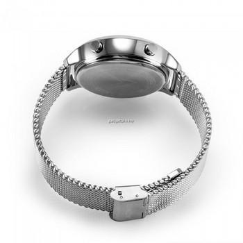 Смарт часовник модел EX18-STEEL с метална каишка