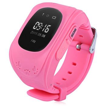 Детски смарт часовник в розов цвят модел Q50