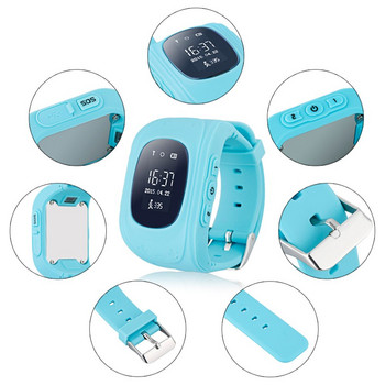 Детски смарт часовник в син цвят модел Q50