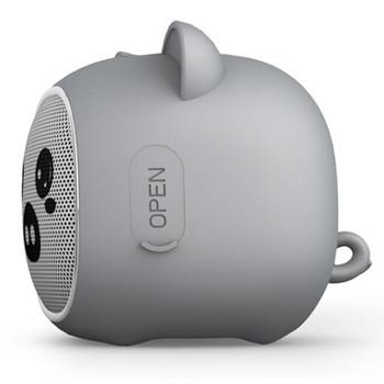 Преносима bluetooth колонка D10 с USB порт и слот за TF/SD card - сив цвят