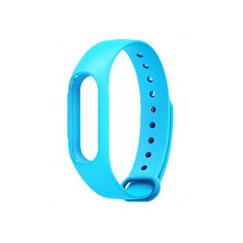 Силиконова каишка за фитнес гривни модел M3 - син цвят