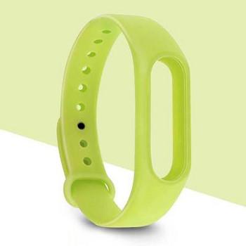 Силиконова каишка за фитнес гривни модел M2 - зелен цвят