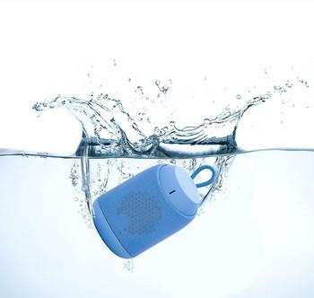 Преносима bluetooth колонка D61 с AUX и USB порт  - син цвят