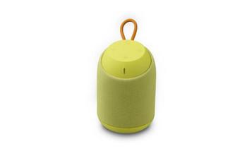 Преносима bluetooth колонка D61 с AUX и USB порт  - жълт цвят