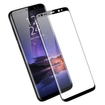 Стъклен протектор за Samsung S9 plus - Full glue черен