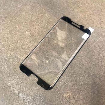 Стъклен протектор за Samsung S7 edge - Edge glue черен