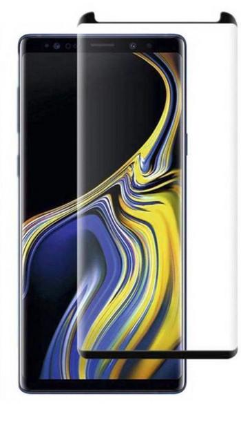 Стъклен протектор за Samsung Note 9 -Edge glue черен