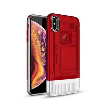 Силиконов калъф за iPhone XR - червен цвят