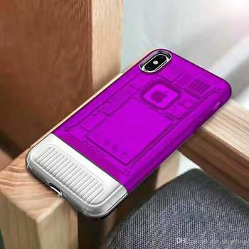 Силиконов калъф  за Samsung S9 - лилав цвят