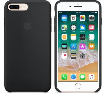Черен калъф за iPhone 8 plus и iPhone 7 plus
