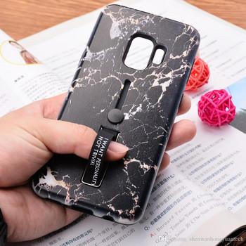 Калъф с мраморен ефект за  iPhone XR