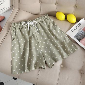 Ежедневни дамски къси панталони с различни цветни десени