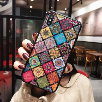 Цветен силиконов калъф за iPhone 6
