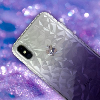 Силиконов калъф с преливащи се цветове за iPhone X и iPhone XS
