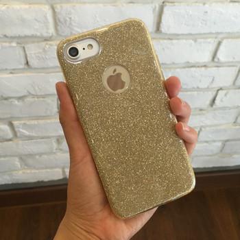 Силиконов калъф с лъскав ефект за iPhone 6 и iPhone 6s