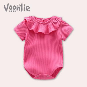 Бебешко боди с къс ръкав в шест цвята
