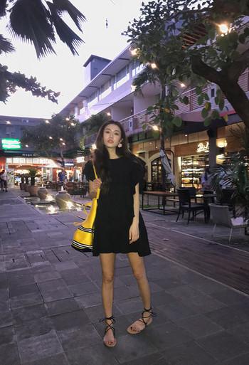 Дамска лятна рокля в два цвята
