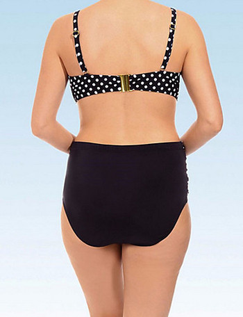 Модерен бански костюм на точки с размер до 5XL