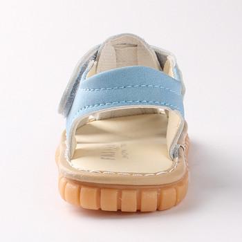 Бебешки сандали в четири цвята за момчета и момичета