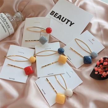 Дамски фиби за коса-комплект от два броя в пет цвята