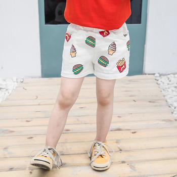 Детски къси панталони с апликация-за момчета и момичета