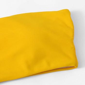 Μοντέρνο μαγιό δύο τεμαχίων με κίτρινο χρώμα