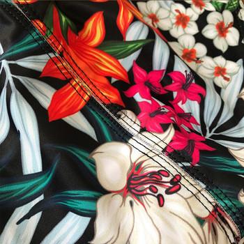 Ανδρικά μαγιό  με δεσμούς και floral μοτίβο