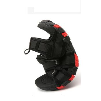 Модерни мъжки сандали с равна подметка и лепенки