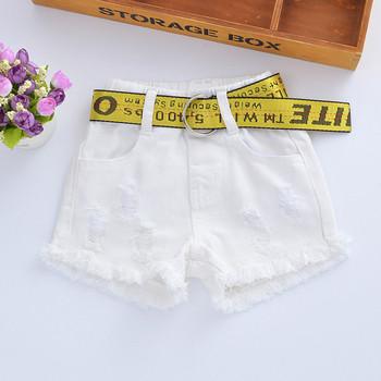 Модерни детски панталони в три цвята-за момичета