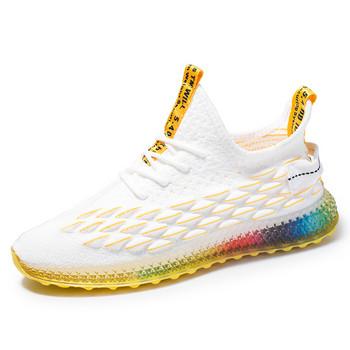 Нов модел мъжки маратонки с връзки-в четири цвята