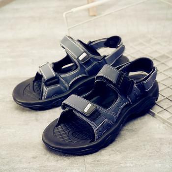 Актуални мъжки сандали-в три цвята