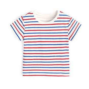 Детска раирана тениска-за момчета и момичета