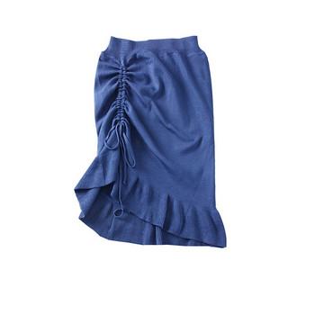 Нов модел дамска пола с връзки - няколко цвята