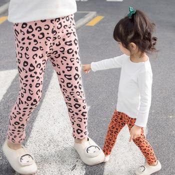 Детски ежедневен клин в четири цвята с леопардов десен
