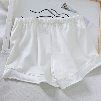 Ежедневни къси дамски панталони с еластична талия в пет цвята