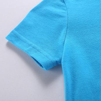 Актуална детска тениска в четири цвята-за момчета