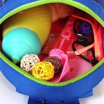 Ежедневна  детска раница с апликация в няколко цвята