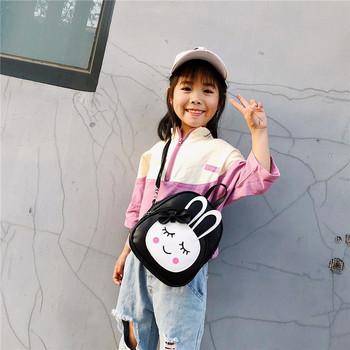 Модерна детска раница с панделка в няколко цвята