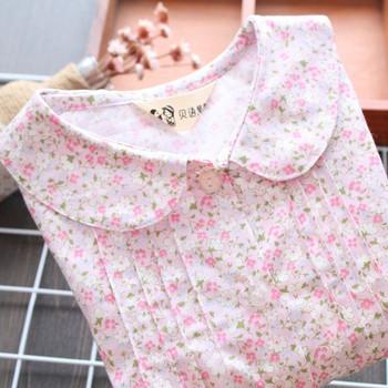 Нов модел модерна детска пижама от две части за момичета